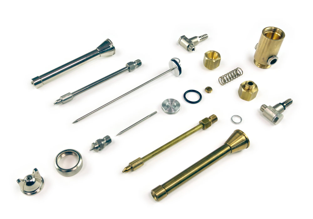 High temperature atomizers and spare parts